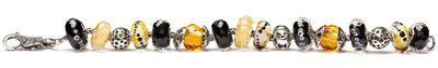 AR316 Trollbeads Black Honey